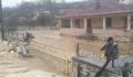 Dereler taştı bir çok köyü su bastı