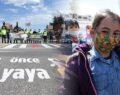 Şanlıurfa'da yaya geçitlerinde öğrencilerle 'kırmızı çizgi' etkinliği