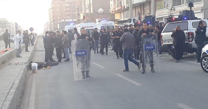 Kızıltepe'de silahlı kavga