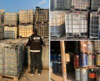 Kaçakçılık operasyonu: Binlerce litre ele geçirildi
