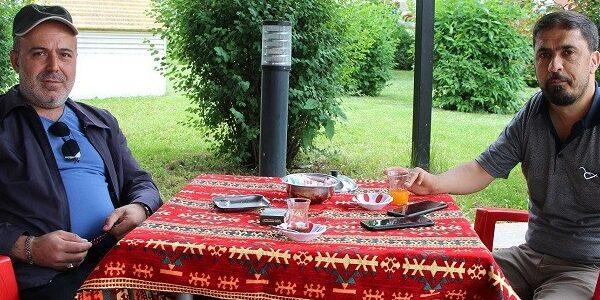 Kafe ve çay bahçeleri açıldı