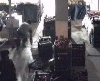 Şanlıurfa'da hırsızlık anı kamerada