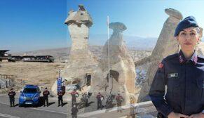 Kapadokya'nın tek kadın komutanı