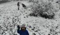 Çocuklar karın keyfini çıkardı