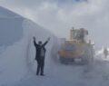O ilde kar kalınlığı 2-3 metreye yükseldi