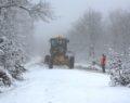 Kar yağışına anında müdahale edildi