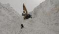Nisan ayında kar 20 metreyi buldu