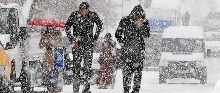Kar yağışı başladı, Edirne'de okullar tatil