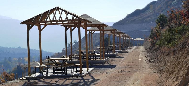 Kanyon park projesinde çalışmalar hızla devam ediyor
