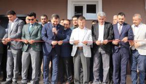 Karaköprü'de çok amaçlı salon hizmete sunuldu