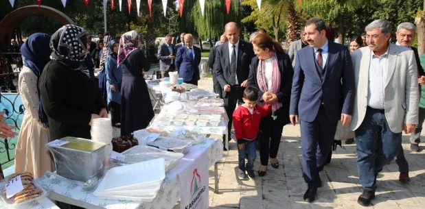 Karaköprü'de çocuklar için anlamlı etkinlik