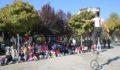 Karaköprü'de çocuklar jonglör gösterisiyle eğlendi