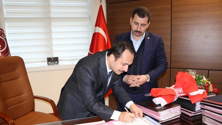Karaköprü ile HRÜ arasında eğitim protokolü