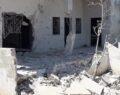Esad El Bara kasabasını vurdu