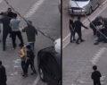 Çocuk ile ağabeyini tekme tokat dövdüler