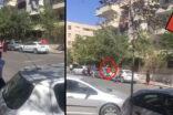 Urfa'da park halindeki aracı parçaladılar