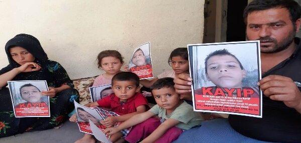 Şanlıurfa'da kaybolan çocuk her yerde aranıyor