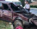 Ağır yaralanan sürücü hayatını kaybetti