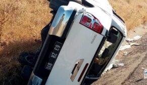 Şanlıurfa'da kaza: 3 yaralı