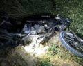 Motosiklet kontrolden çıkarak takla attı: 1 ölü