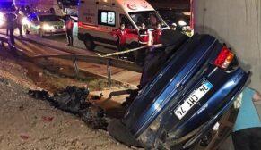 Feci kaza: 1 ölü, 6 yaralı