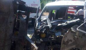 Feci kaza: 11 yaralı
