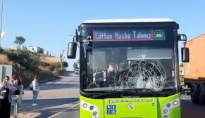 Halk otobüsünün çarptığı yaya öldü