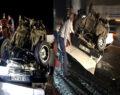 Adıyaman-Şanlıurfa karayolunda feci kaza
