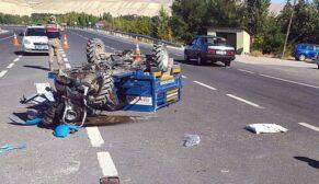 Korkunç kaza: 1 ölü, 2 yaralı