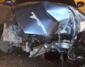 Feci kazadan burnu bile kanamadan kurtuldu