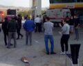 Belediye otobüsü petrol istasyonuna daldı: 10 yaralı