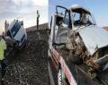 Şanlıurfa'da otomobiller çarpıştı