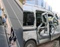 Bomboş yolda trafik kazası: 2 yaralı