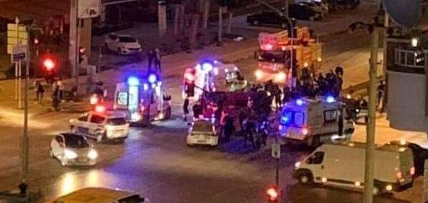 Özel harekat aracı kaza yaptı: Yaralılar var