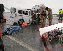 Korkunç kaza: 3 ölü, yaralı