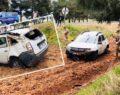 HDP'li başkanın aracı kaza yaptı