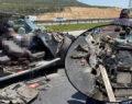 Korkunç kaza 1 ölü, 2 yaralı