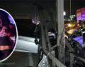 Alkollü sürücü bariyere girdi: 1 ölü, 2 ağır yaralı