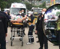 Araç durağa daldı: 1'i çocuk 5 kişiyi ezdi