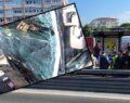Metrobüs kazası: 24 yaralı