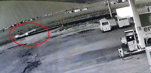Şanlıurfa'da feci kaza kamerada