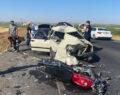 Çarptığı otomobilin üzerinde asılı kalan adam öldü