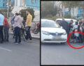 Yolun karşısına geçmek isteyen yaşlı kadına araba çarptı