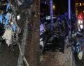 Korkunç kaza: 1 ölü 1 yaralı