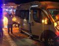 İşçi servisleri çarpıştı: 23 yaralı