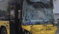 Otobüsü ile servis minibüsü çarpıştı: 7 yaralı