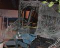 Belediye otobüs ortalığı savaş alanına çevirdi