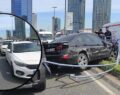 11 aracın karıştığı akılalmaz kaza