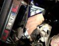 Otomobiller çarpıştı: 3 ölü, 2 yaralı