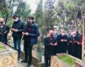Kazancı Bedih mezarı başında anıldı